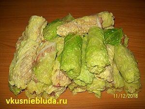 голубцы из савойской капусты рецепт