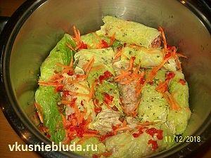 готовим голубцы из савойской капусты