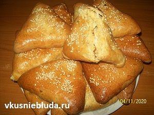 пирожки с горохом рецепт