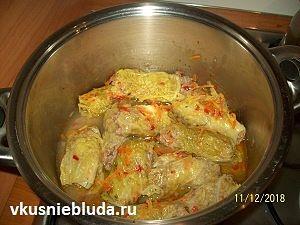 вкусные голубцы из савойской капусты