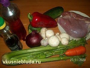 ингредиенты для стир-фрай