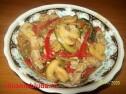 Овощи с мясом стир-фрай.