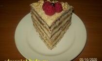 песочный торт стефания