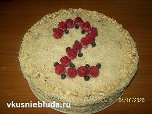 рецепт торт стефания