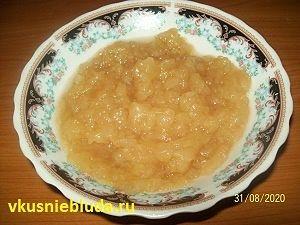 яблочное пюре для маффинов