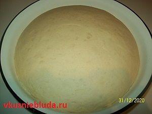 тесто для сдобных пирожков
