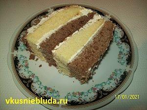 вкусный торт сметанник