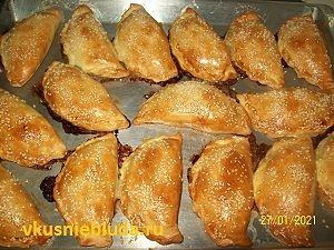 пирожки с рубленым мясом