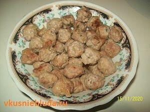 фрикадельки из индейки для супа