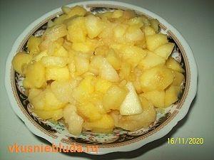 яблоки для ватрушек
