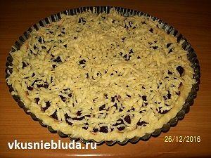 рецепт вишнёвого пирога