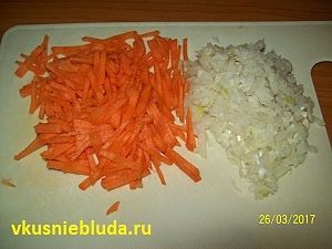 морковка лук для супа