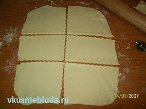 формуем печенье с творогом