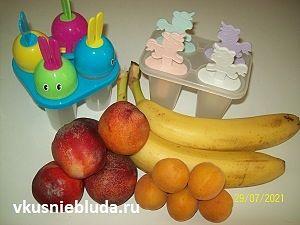 фрукты и формочки