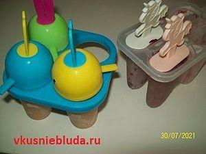 мороженое из фруктов