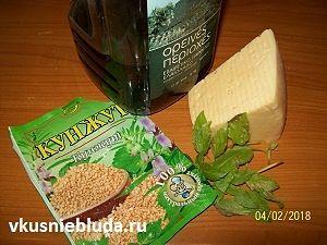 сыр базилик кунжут масло