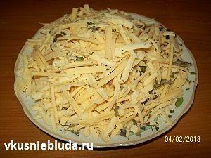 сырная начинка с базиликом