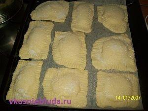 выпекаем печенье с творогом