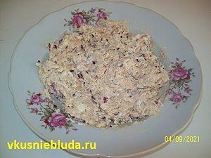 рыбный салат для фуршета